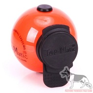 Top Matic Technic Ball orange con clip nera
